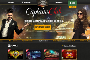 Speel bij CasinoCruise's Captain's Club